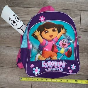 Dora the Explorer Backpack 🎒with shorts